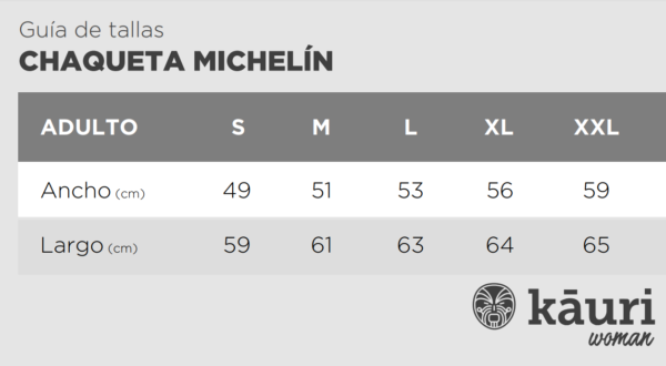 Michelin Fem Black Tallas